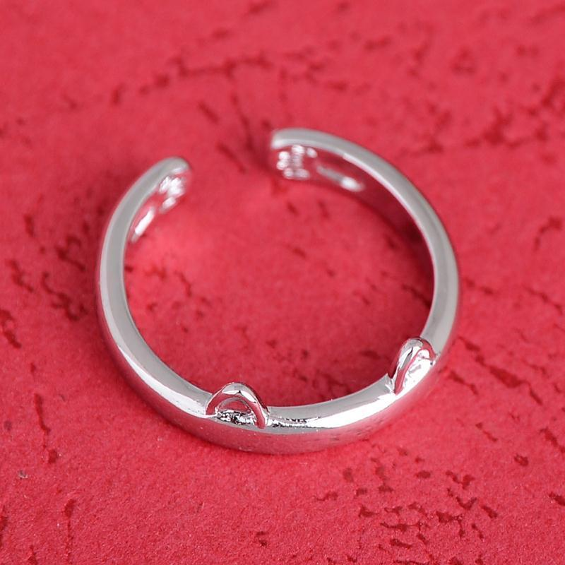 Ring In Kaars.Cat Ring With Ears And Paws Web Order Maison De Moggy