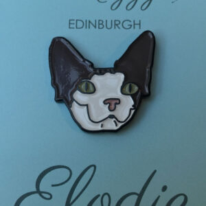 Elodie Enamel Pin Badge
