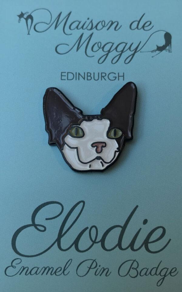 Elodie Enamel Pin Badge