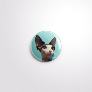 Elodie Button Badge