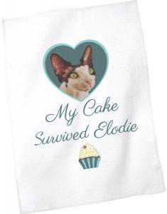 My Cake Survived Elodie Tea Towel