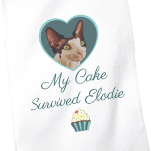My Cake Survived Elodie Tea Towel